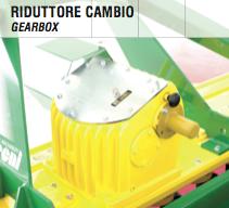 Cambio Gearbox power harrow